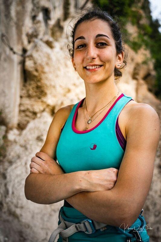 francesca medici lead contest milano climbing expo urban wall competizione arrampicata