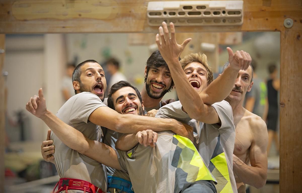 milano climbing expo 2019 urban wall team